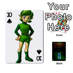 Zelda By Seth   Playing Cards 54 Designs   6ugzjg4fhora   Www Artscow Com Front - Spade10