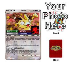 Pokemon 1 53 New By Seth   Playing Cards 54 Designs   Nvabu06endwn   Www Artscow Com Front - Spade3