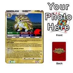 Pokemon 1 53 New By Seth   Playing Cards 54 Designs   Nvabu06endwn   Www Artscow Com Front - Diamond2
