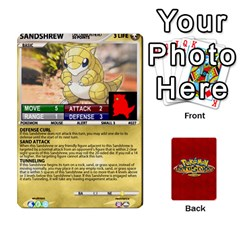 Pokemon 1 53 New By Seth   Playing Cards 54 Designs   Nvabu06endwn   Www Artscow Com Front - Diamond3