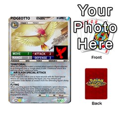 King Pokemon 1 53 New By Seth   Playing Cards 54 Designs   Nvabu06endwn   Www Artscow Com Front - DiamondK