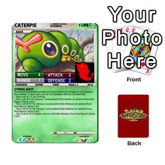 Pokemon 1 53 New By Seth   Playing Cards 54 Designs   Nvabu06endwn   Www Artscow Com Front - Club7