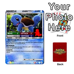 Pokemon 1 53 New By Seth   Playing Cards 54 Designs   Nvabu06endwn   Www Artscow Com Front - Club10