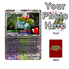 Ace Pokemon 1 53 New By Seth   Playing Cards 54 Designs   Nvabu06endwn   Www Artscow Com Front - ClubA
