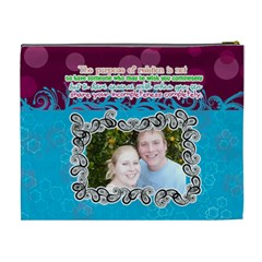Share Your Incompleteness Completely  By Digitalkeepsakes   Cosmetic Bag (xl)   C1y9sgzj2ztg   Www Artscow Com Back