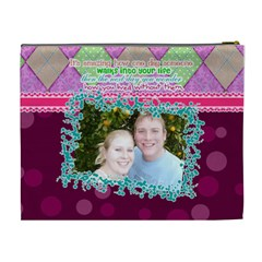 Someone Walks Into Your Life  By Digitalkeepsakes   Cosmetic Bag (xl)   1yma0t3l82go   Www Artscow Com Back