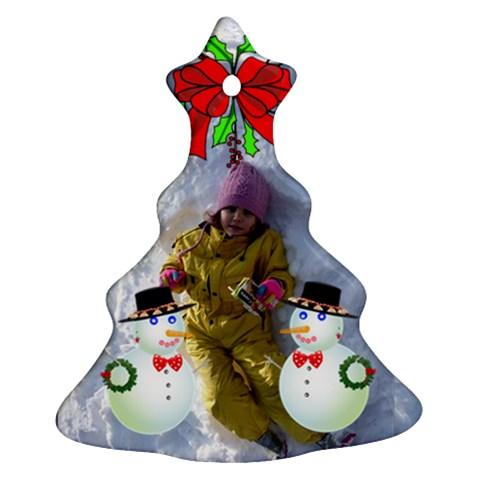 Elhichka By Penka Mihaylova   Ornament (christmas Tree)    Fkp1becgmqj5   Www Artscow Com Front