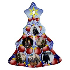 Iliana By Maria Georgieva   Christmas Tree Ornament (two Sides)   By9pqndujmpb   Www Artscow Com Front