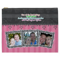 Hug The Person You Love  By Digitalkeepsakes   Cosmetic Bag (xxxl)   1j7isewvki5a   Www Artscow Com Front
