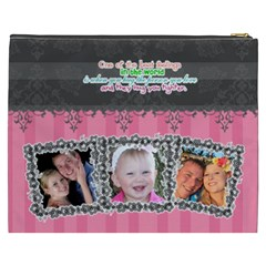 Hug The Person You Love  By Digitalkeepsakes   Cosmetic Bag (xxxl)   1j7isewvki5a   Www Artscow Com Back