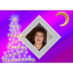 Trofileva By Maria Georgieva   Circle 3d Greeting Card (7x5)   35ki6ficjbs1   Www Artscow Com Front