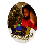 Christmas Oval Ornament - Ornament (Oval)