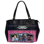 Hug the person you love. - Oversize Office Handbag