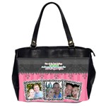 Hug the person you love. - Oversize Office Handbag (2 Sides)