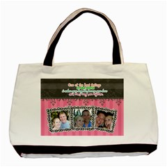 Hug The Person You Love  By Digitalkeepsakes   Basic Tote Bag (two Sides)   6jqouugv900y   Www Artscow Com Back