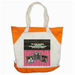 Hug the person you love. - Accent Tote Bag