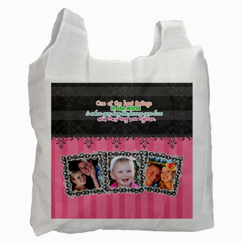 Hug The One You Love  By Digitalkeepsakes   Recycle Bag (one Side)   P06oya5ch6z3   Www Artscow Com Front