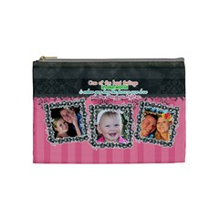 Hug The One You Love  By Digitalkeepsakes   Cosmetic Bag (medium)   20jx6mbaugnl   Www Artscow Com Front