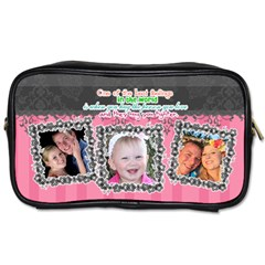 Hug The One You Love  By Digitalkeepsakes   Toiletries Bag (two Sides)   B6xcaoisgfsu   Www Artscow Com Front