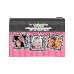 Hug The One You Love  By Digitalkeepsakes   Cosmetic Bag (large)   Sgz13c3syon9   Www Artscow Com Back