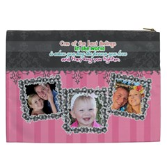 Hug The One You Love  By Digitalkeepsakes   Cosmetic Bag (xxl)   Qzr4p52kriet   Www Artscow Com Back