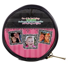 Hug Th Eone You Love  By Digitalkeepsakes   Mini Makeup Bag   Zmf1f8jt2o6c   Www Artscow Com Front