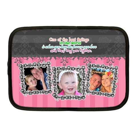 Hug The One You Love  By Digitalkeepsakes   Netbook Case (medium)   74ol6563haci   Www Artscow Com Front