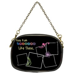 I Live For Moments Like These  By Digitalkeepsakes   Chain Purse (two Sides)   D4992x7e1udl   Www Artscow Com Front