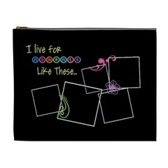 I Live For Moments Like These  By Digitalkeepsakes   Cosmetic Bag (xl)   Os1il9xhk2sz   Www Artscow Com Front