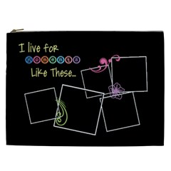 I Live For Moments Like These  By Digitalkeepsakes   Cosmetic Bag (xxl)   Em36jhjo41vt   Www Artscow Com Front