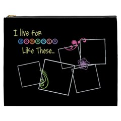 I Live For Moments Like These  By Digitalkeepsakes   Cosmetic Bag (xxxl)   917rdkaz9w6o   Www Artscow Com Front