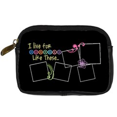 I Live For Moments Like These  By Digitalkeepsakes   Digital Camera Leather Case   4sc9v8v2xvcr   Www Artscow Com Front