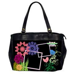 Together We Have It All, Office Handbag (2 Sides) By Digitalkeepsakes   Oversize Office Handbag (2 Sides)   Qy4cu1t2sye2   Www Artscow Com Front