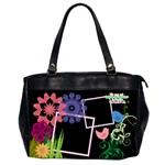 Together we have it all, Office handbag (2 sides) - Oversize Office Handbag (Two Sides)