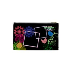 Together We Have It All  By Digitalkeepsakes   Cosmetic Bag (small)   Prgjy7codwfi   Www Artscow Com Back