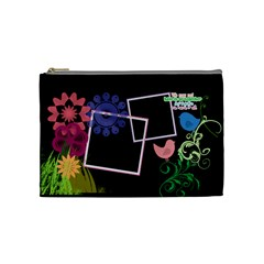 Together We Have It All  By Digitalkeepsakes   Cosmetic Bag (medium)   1ka87c0wftax   Www Artscow Com Front