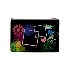 Together We Have It All  By Digitalkeepsakes   Cosmetic Bag (medium)   1ka87c0wftax   Www Artscow Com Back