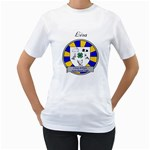 Club Shirt - Woman - Women s T-Shirt (White) (Two Sided)