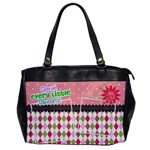 Cherish every little moment. - Oversize Office Handbag (One Side)