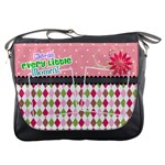 Cherish every little moment. - Messenger Bag