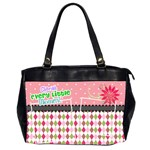 Cherish every little momnet. - Oversize Office Handbag (Two Sides)