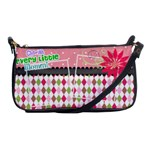 Cherish every little moment. - Shoulder Clutch Bag