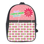 Cherish every little moment. - School Bag (Large)