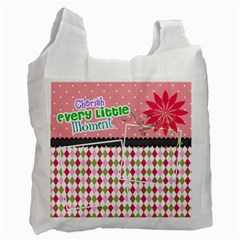 Cherish Every Little Moment  By Digitalkeepsakes   Recycle Bag (two Side)   Y5d57hs7iub9   Www Artscow Com Front