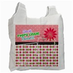 Cherish every little moment. - Recycle Bag (Two Side)