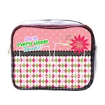 Cherish every little moment. - Mini Toiletries Bag (One Side)