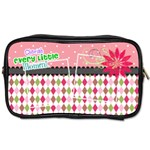 Cherish every little moment. - Toiletries Bag (Two Sides)