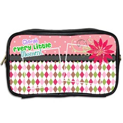 Cherish Every Little Moment  By Digitalkeepsakes   Toiletries Bag (two Sides)   Cbzydwskg9q9   Www Artscow Com Back