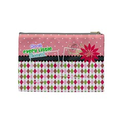 Cherish Every Little Moment  By Digitalkeepsakes   Cosmetic Bag (medium)   N1p94q21y8jx   Www Artscow Com Back
