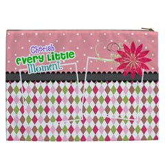 Cherish Every Little Moment  By Digitalkeepsakes   Cosmetic Bag (xxl)   537ggx02p99g   Www Artscow Com Back